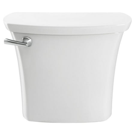American Standard Edgemere 1.28 GPF Right Height Elongated 12-in Rough in Toilet Tank in White American Standard 12 Rough