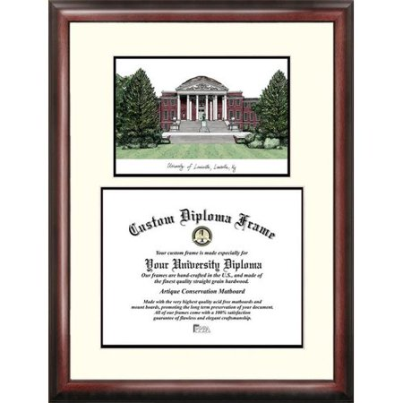 University of Louisville 14 x 17 Scholar Diploma - University Louisville Halloween