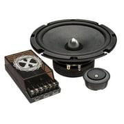 "Powerbass 2XL63C 6.5"" 180 Watt Max Power 2-Way Component Speaker System"