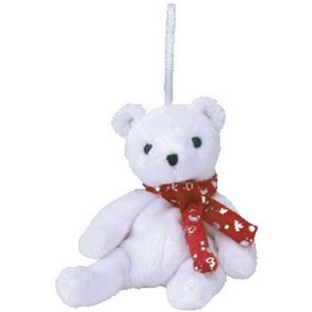 TY Jingle Beanie Baby - 2000 HOLIDAY TEDDY (5 inch)