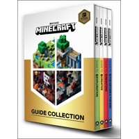Minecraft: Minecraft: Guide Collection 4-Book Boxed Set: Exploration; Creative; Redstone; The Nether & the End (Paperback)