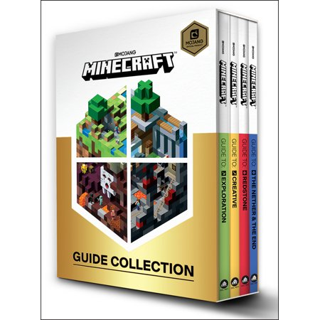 Minecraft: Guide Collection 4-Book Boxed Set : Exploration; Creative; Redstone; The Nether & the (Best Looking Minecraft Houses)