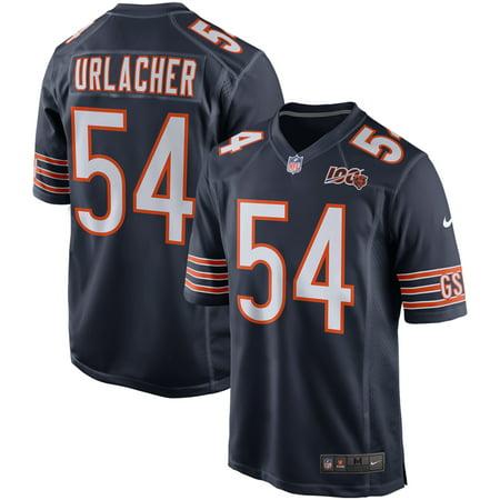 Brian Urlacher Chicago Bears Nike 100th Season Retired Game Jersey - Navy
