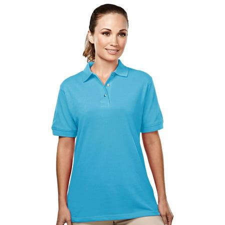 Tri-Mountain Women's Easy Care Placket Pique Golf Shirt Custom Nike Golf Shirts