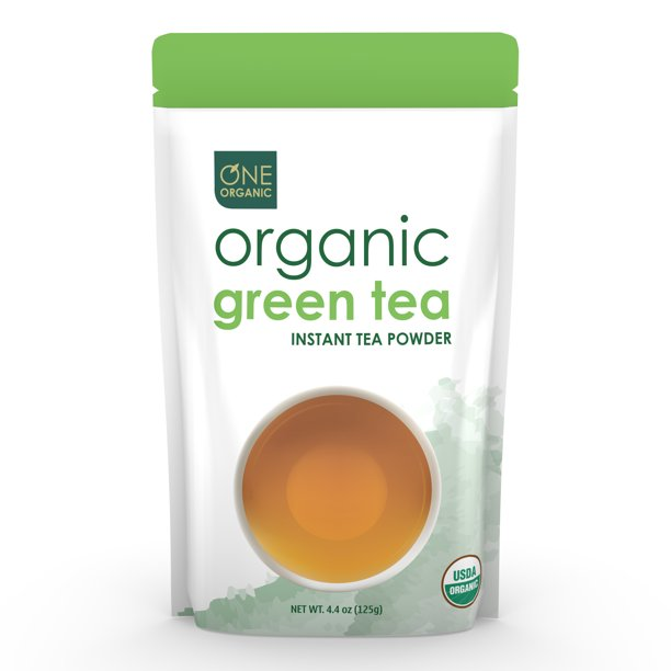 One Organic Instant Green Tea Powder, 4.4 Oz