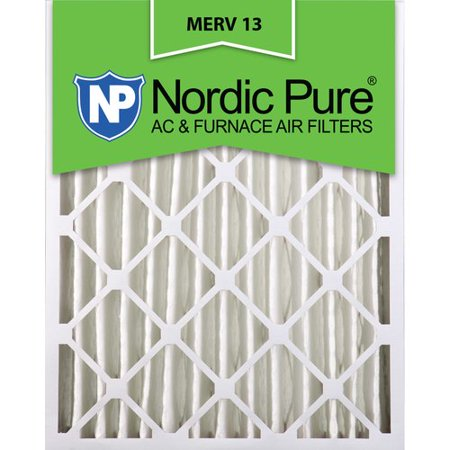 16x24x4 Pleated MERV 13 AC Furnace Air Filters Qty 1