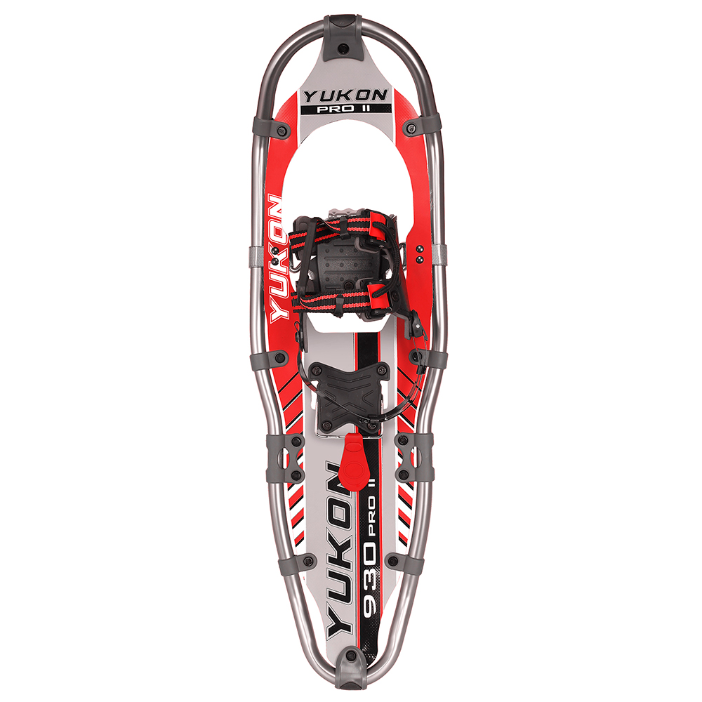 yukon charlies pro ii series 930 snowshoe, red by YUKON CHARLIES