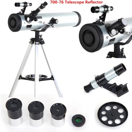 700-76 Astronomical Telescope Pro Seben Zoom Enlarge Star Space Reflector type For Kids Sky Star