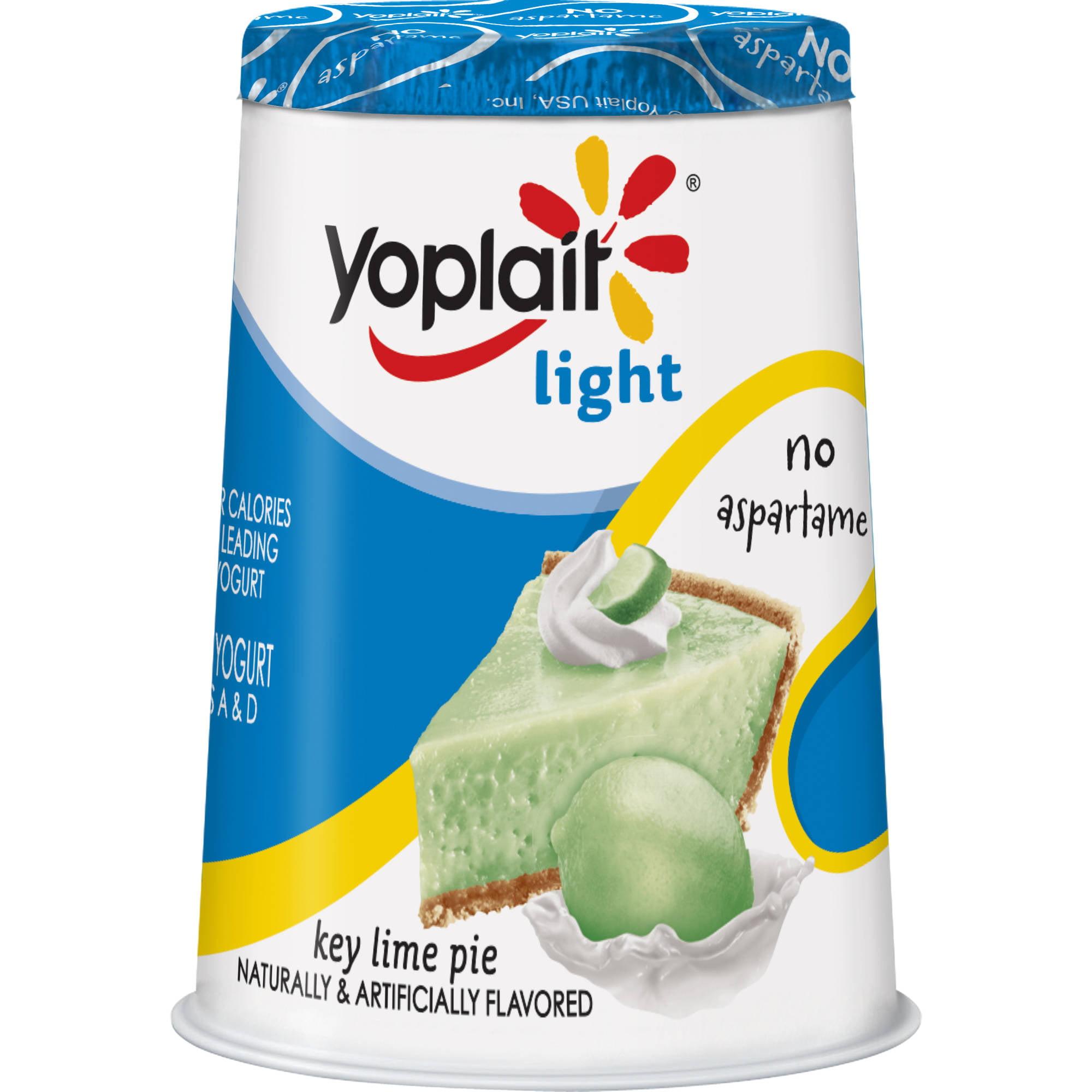 Yoplait? Light Key Lime Pie Fat Free Yogurt 6 oz. Cup