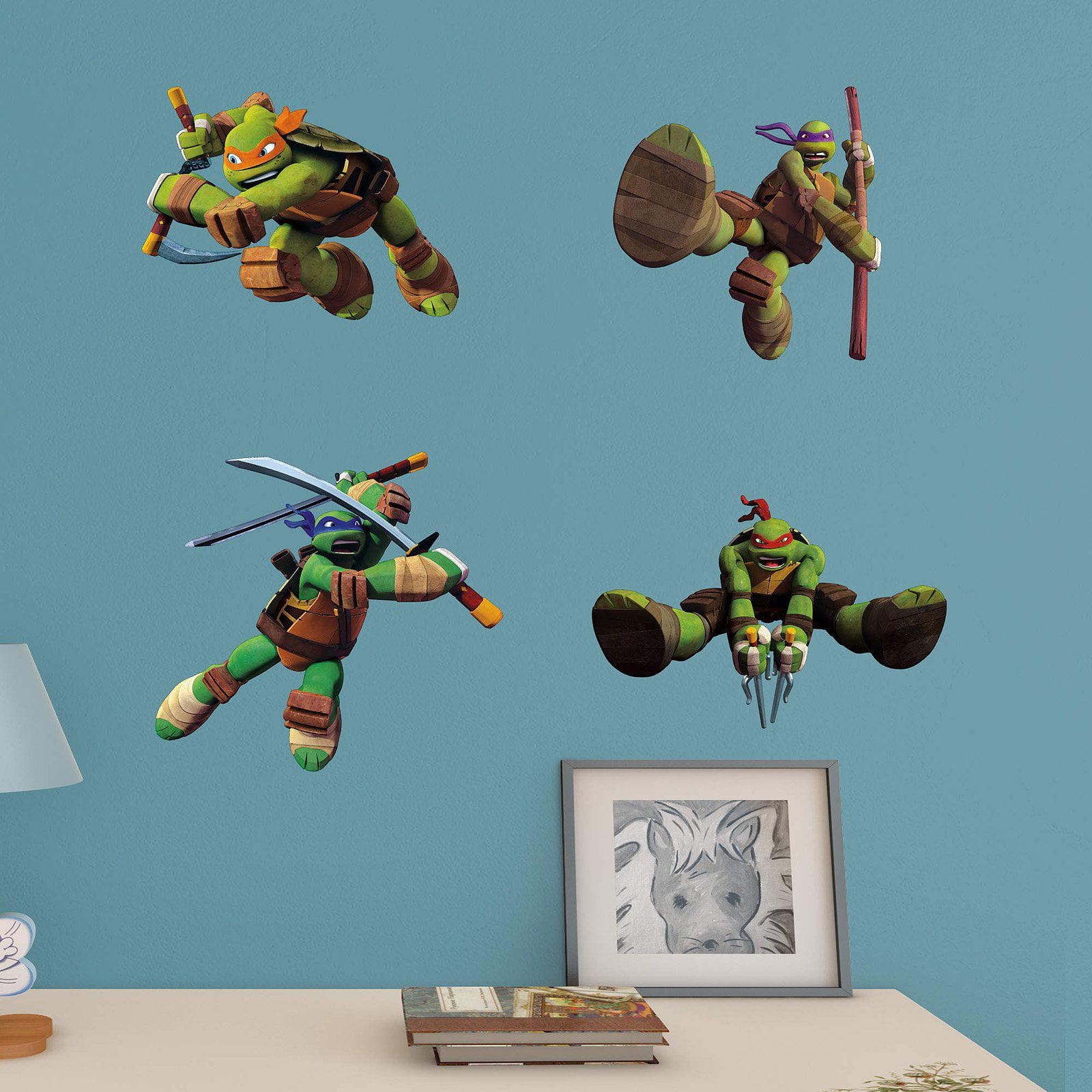 Fathead Teenage Mutant Ninja Turtles Junior Wall Decal