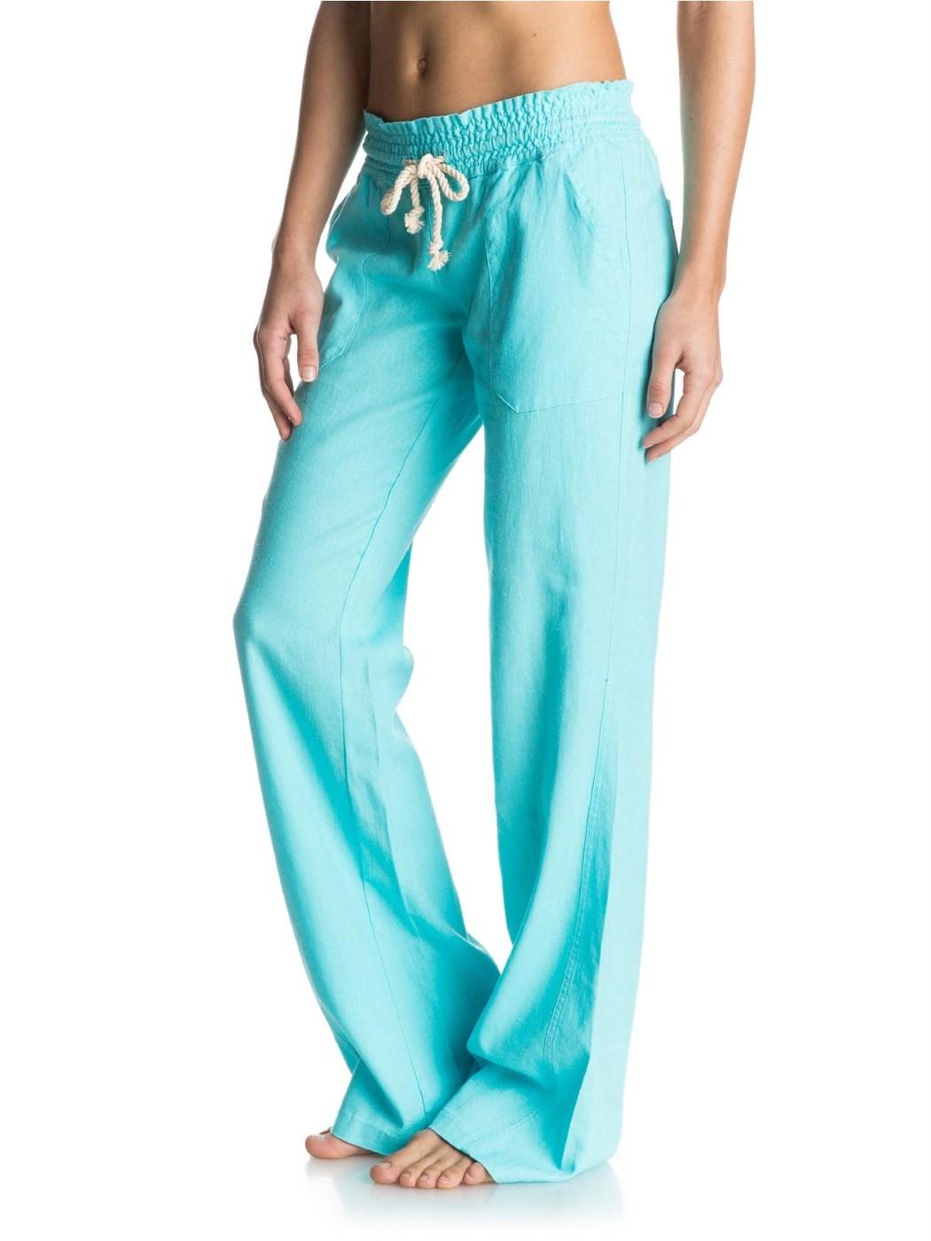 5cf3bdfe63 Roxy - Roxy Womens Oceanside Beach Pants ARJNP03006 - Walmart.com