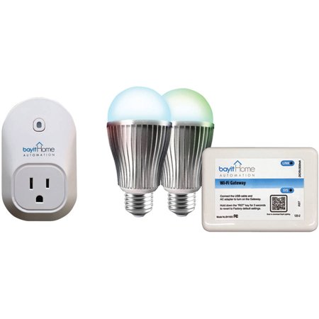 Bayit Home Automation Smart Socket and Smart LED Bundle