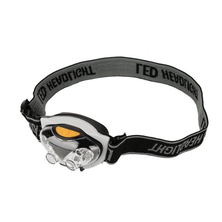WALFRONT 6 LED Adjustable Angle & Headband Strap Super Bright Headlamp 3 Mode 1200 Lm Waterproof,Adjustable Angle & Headband Strap Super Bright Headlamp - Headband Light