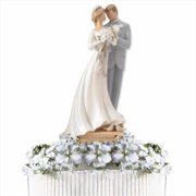 Gregg Gift Company 124646 Cake Topper Legacy Of Love Wedding Two Shall Become One