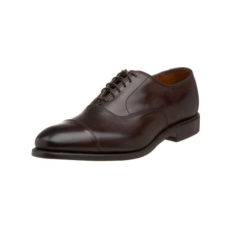 - Allen Edmonds Men's Park Avenue Cap-Toe Oxford, Brown, Size 8.0