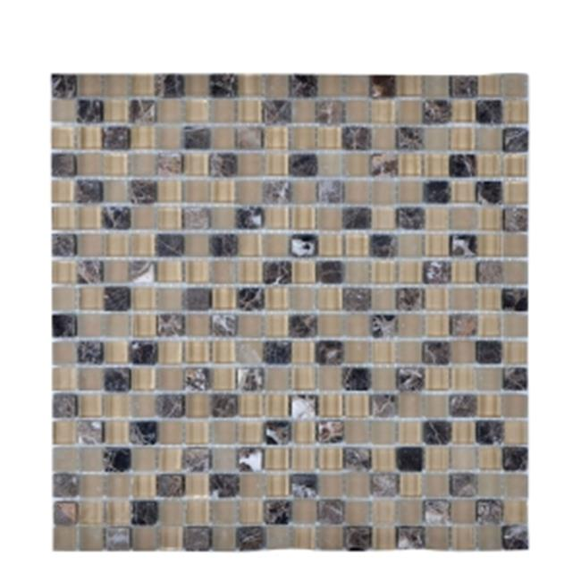 Legion Furniture MS-MIXED22 Universal Mosaic Tile with Mix Stone