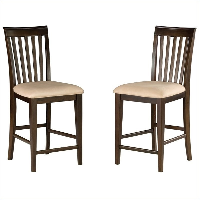 Atlantic Furniture Mission Pub Dining Chair in Antique Wa...