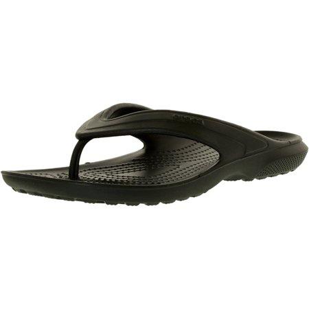 22e4f671b91510 Crocs Men s Classic Flip Navy Ankle-High Rubber Sandal - 7D - image 1 ...