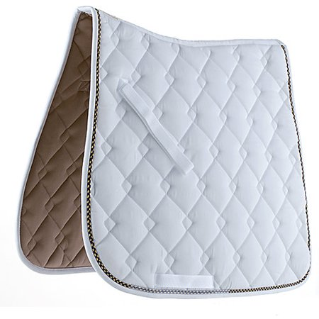 Roma Ecole Horse (Roma Ecole Double Diamond Dressage Pad White/Navy/ )