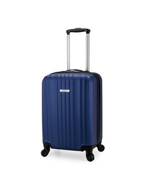 Elite Luggage Fullerton Hardside Carry-On Spinner Luggage, Navy