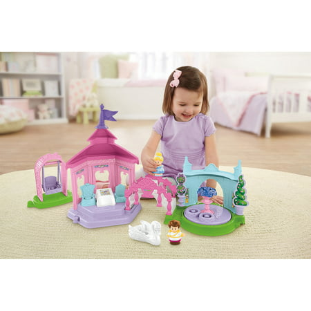 Fisher-Price Little People Disney Princess Garden Party Playset (Fisher Price Little People Marvel)