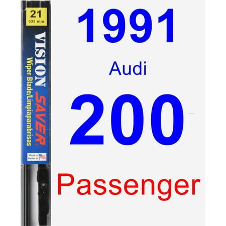 1991 Audi 200 Passenger Wiper Blade - Vision Saver 1991 Audi 200 Turbo