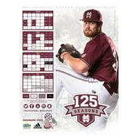 Mississippi State Bulldogs 2015 Baseball RHP Poster