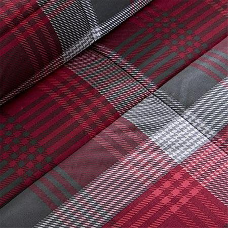 Woolrich Terrytown Softspun Down Alternative Comforter Mini Set, King, Red - image 1 of 3