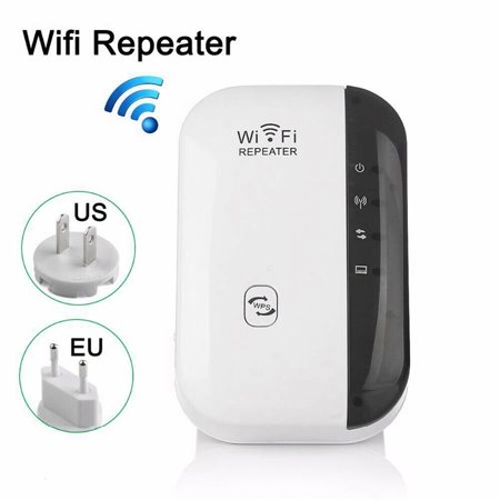 Wireless Wifi Repeater Long Range Extender Amplifier 2.4GHz Network Adapter Wireless-N Mini AP Access Point Dongle IEEE802.11N/G/B Mini AP Router Signal Booster(300M-New