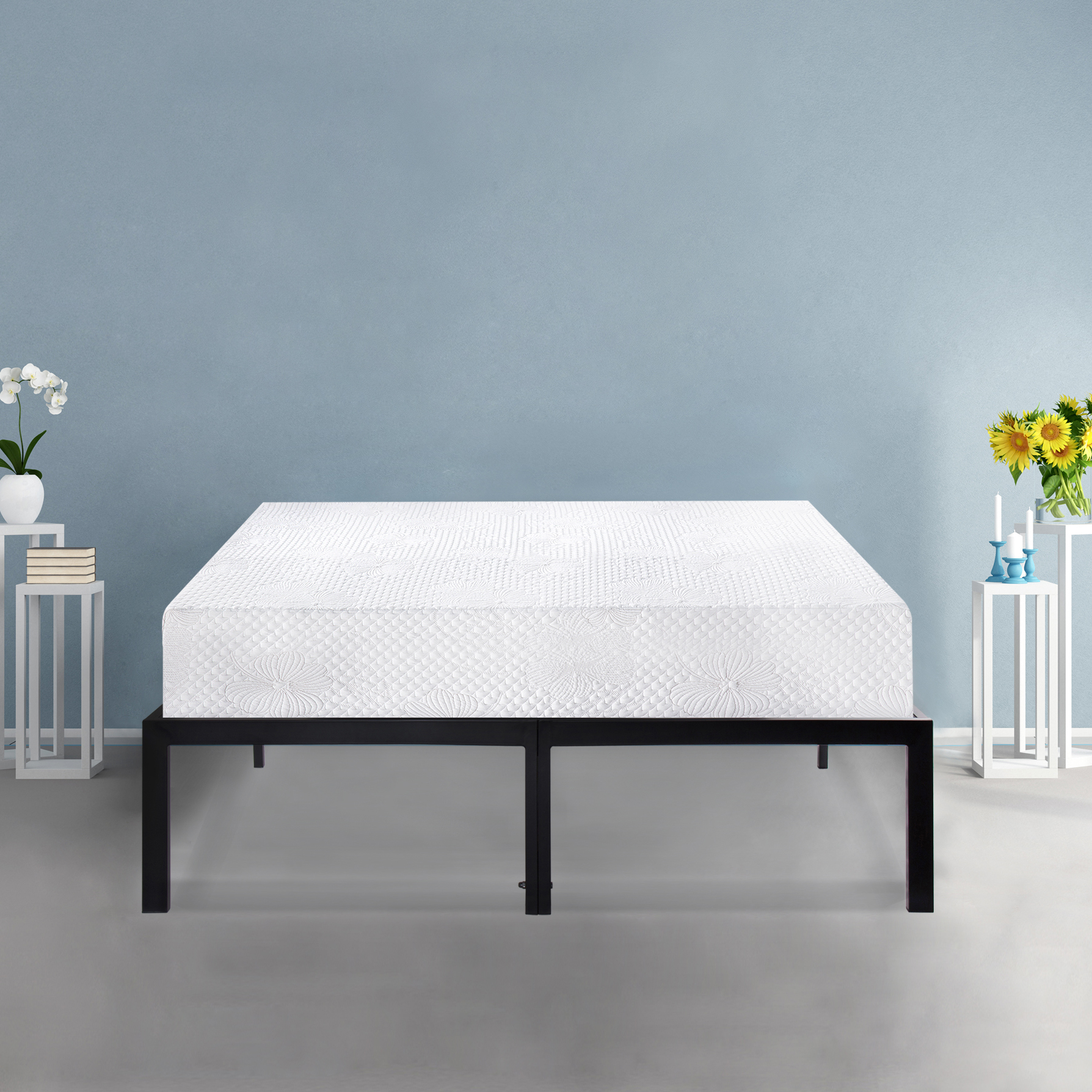 GranRest 8 Inch Ventilated Convolution Memory Foam Mattress by Grantec Co., Ltd