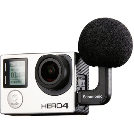 Saramonic G-MIC GoMic Stereo Ball Microphone for GoPro
