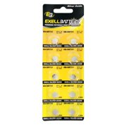 10pk Exell EB-SR721 Silver Oxide 1.5V Watch Battery Replaces 362/361