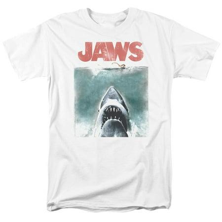 Jaws - Vintage Poster - Short Sleeve Shirt - XX-Large (Kitty Jaws Shirt)