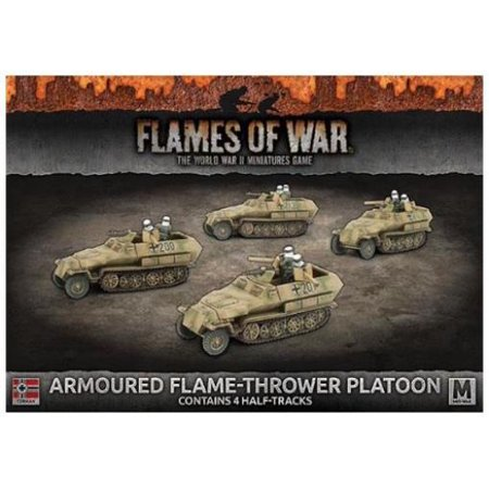 Autoloc Flame Thrower (Sd Kfz 251 Armored Flame Thrower Platoon New)