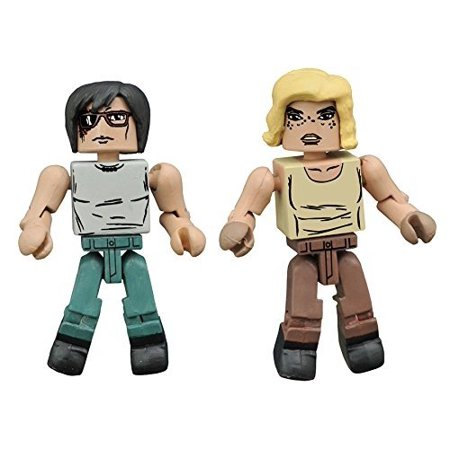 The Walking Dead Minimates Series 8 Hilltop Carl Grimes and Hilltop - Carl Grimes Costume