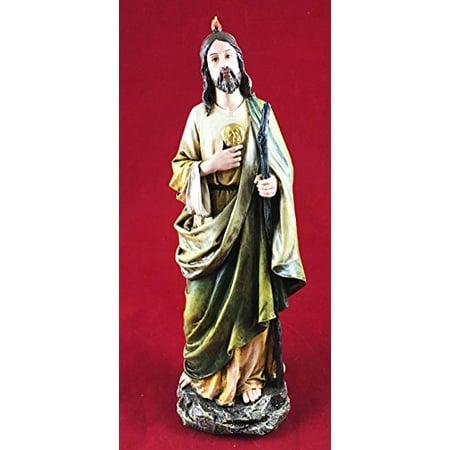 Saint Jude Thaddeus The Apostle Figurine Brother Of Jesus Disciple Day Of Pentecost Holy Spirit Fire