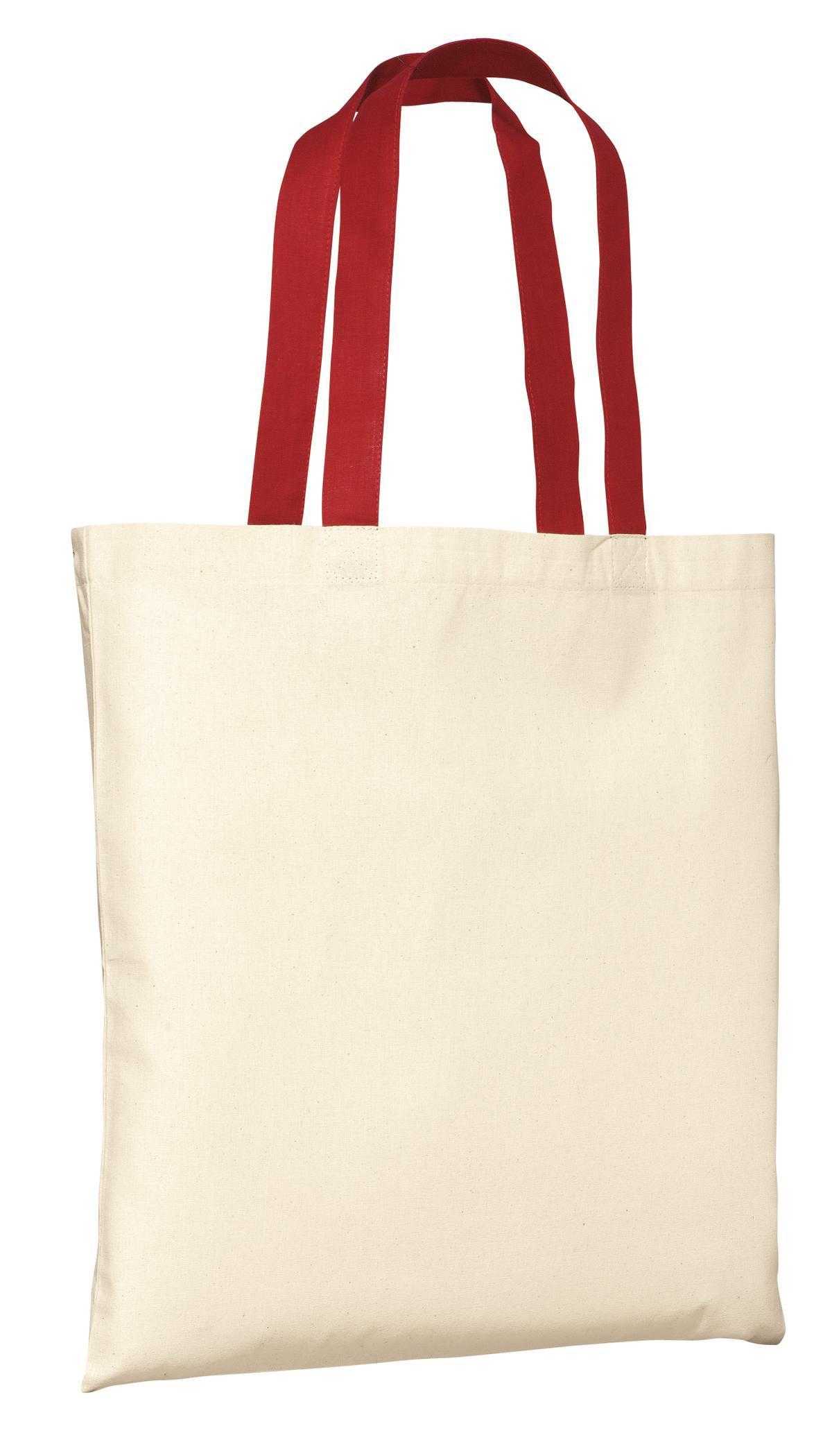 fd2e5334b818 Port   Company - Port   Company Stitching Handles Budget Tote Bag -  Walmart.com