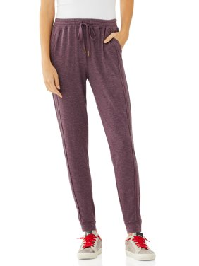 Scoop Womens Joggers with Front Seaming