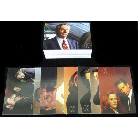 1996 Topps The X-Files Season 3 Trading Card Set (72) Nm/Mt X-files Trading Card