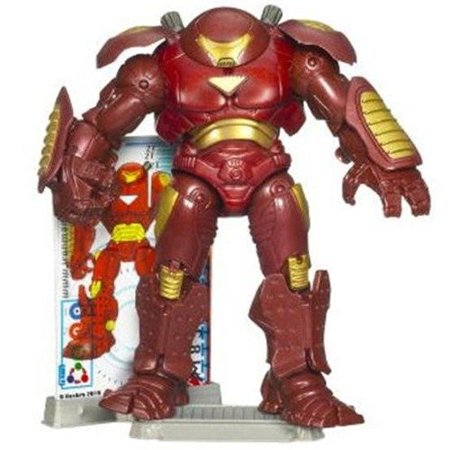 Iron Man Hulkbuster Armor Comic Book Action Figure by Hasbro - Hulkbuster Armor
