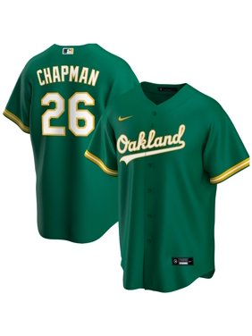 Matt Chapman Oakland Athletics Nike Alternate 2020 Replica Player Jersey - Kelly Green