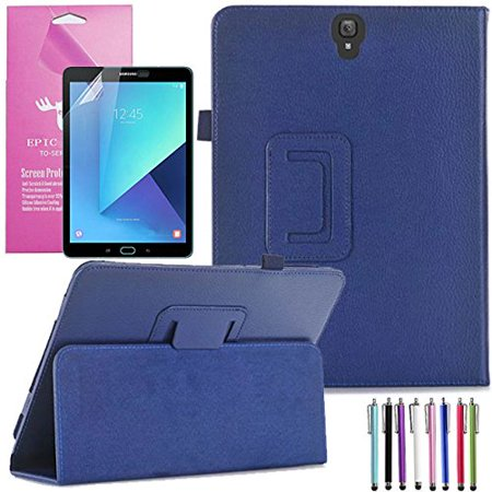 wholesale dealer aa79d b9722 Samsung Galaxy Tab S3 9.7 Case, EpicGadget(TM) PU Leather Folding Folio  (With S Pen) Auto Sleep/Wake Case for Tab S3 9.7 Inch SM-T820/T825 2017  Tablet ...