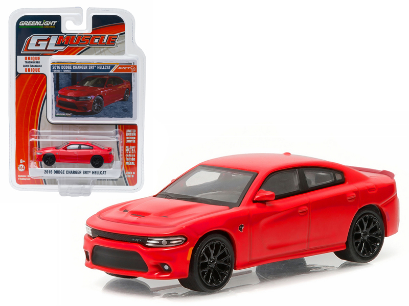 2016 Dodge Charger Hellcat Torred 1 64 Diecast Model Car by Greenlight by GreenLight