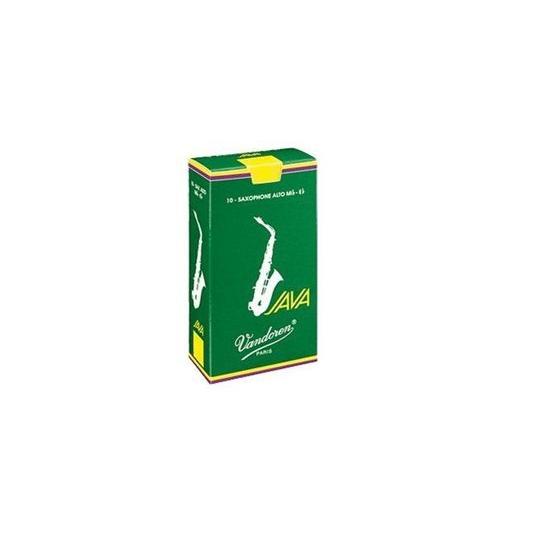 Vandoren 3 Alto Saxophone Java Reeds 10 Pack by Vandoren