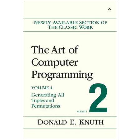 The Art Of Computer Programming, Fascicle 2: Generating All Tuples And Permutations