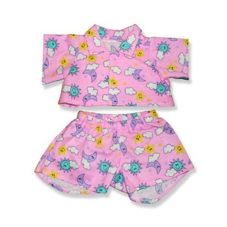 Pink Pjs Outfit Teddy Bear Clothes Fits Most 14     18   Build A Bear  Vermont Teddy Bears  And Make Your Own Stuffed Animals