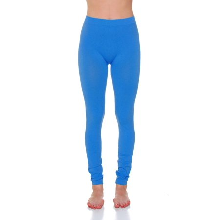 1798f679fad Essential Basic - Essential Basic Women Ankle Length Seamless Fleece Lined  Leggings - Jr - Plus Sizes - Walmart.com