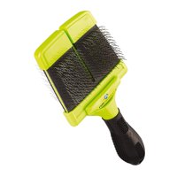 FURminator Soft Slicker Brush For Dogs, Large, For Silky Or Wiry Coats
