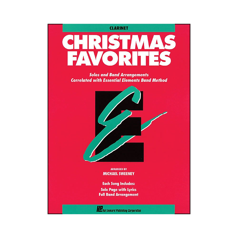Hal Leonard Essential Elements Christmas Favorites B Flat Clarinet
