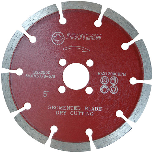 "Protech BSX050C 5"" Segmented General Purpose Premium Blade"